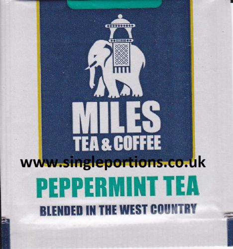 PEPPERMINT tea bags - foil sealed - full strength fresh cup everytime